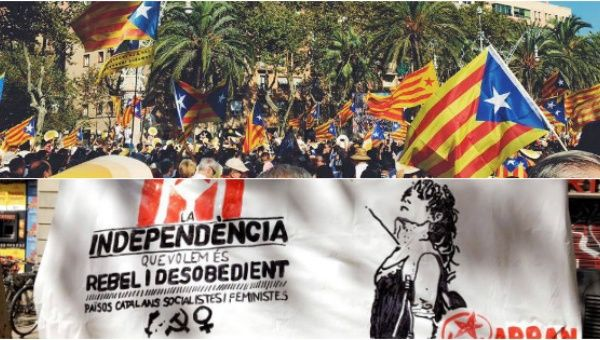 Thousands of Catalans March for Independence from Spain (TeleSUR) -