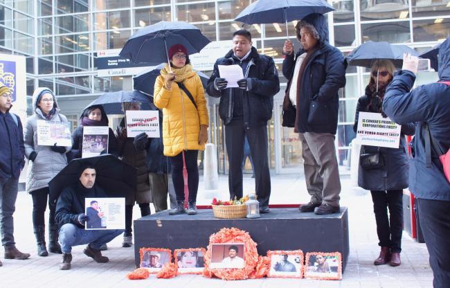 Canada's Broken Pledge to Human Rights Defenders (NACLA) -