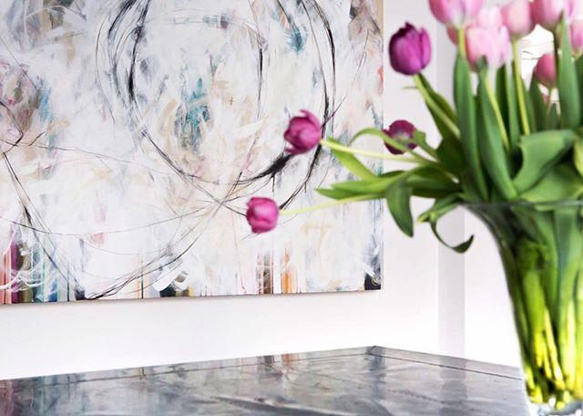 #meredithbingham #artist #marinadempsterphotography #modernart #interiordesign #alissasextonart