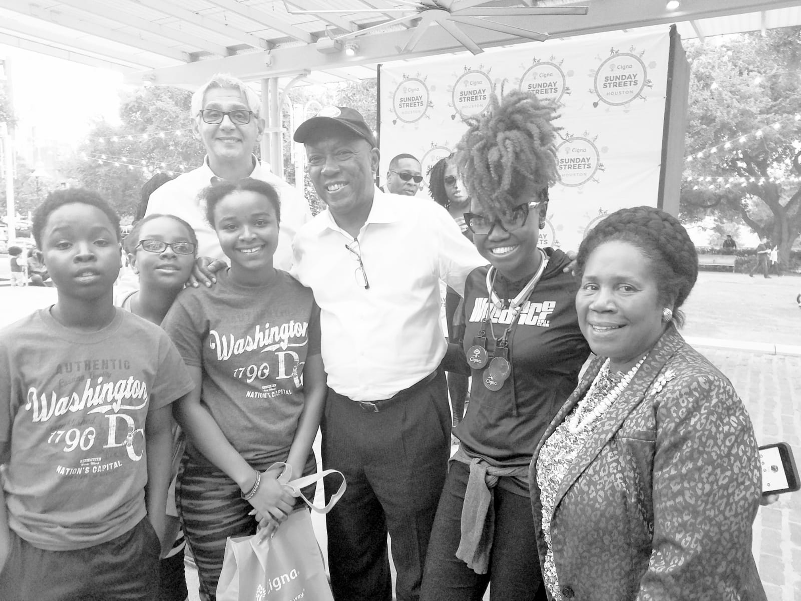 CIGNA Sunday Streets…with Houston Mayor Sylvester Turner and Congresswoman Sheila Jackson Lee