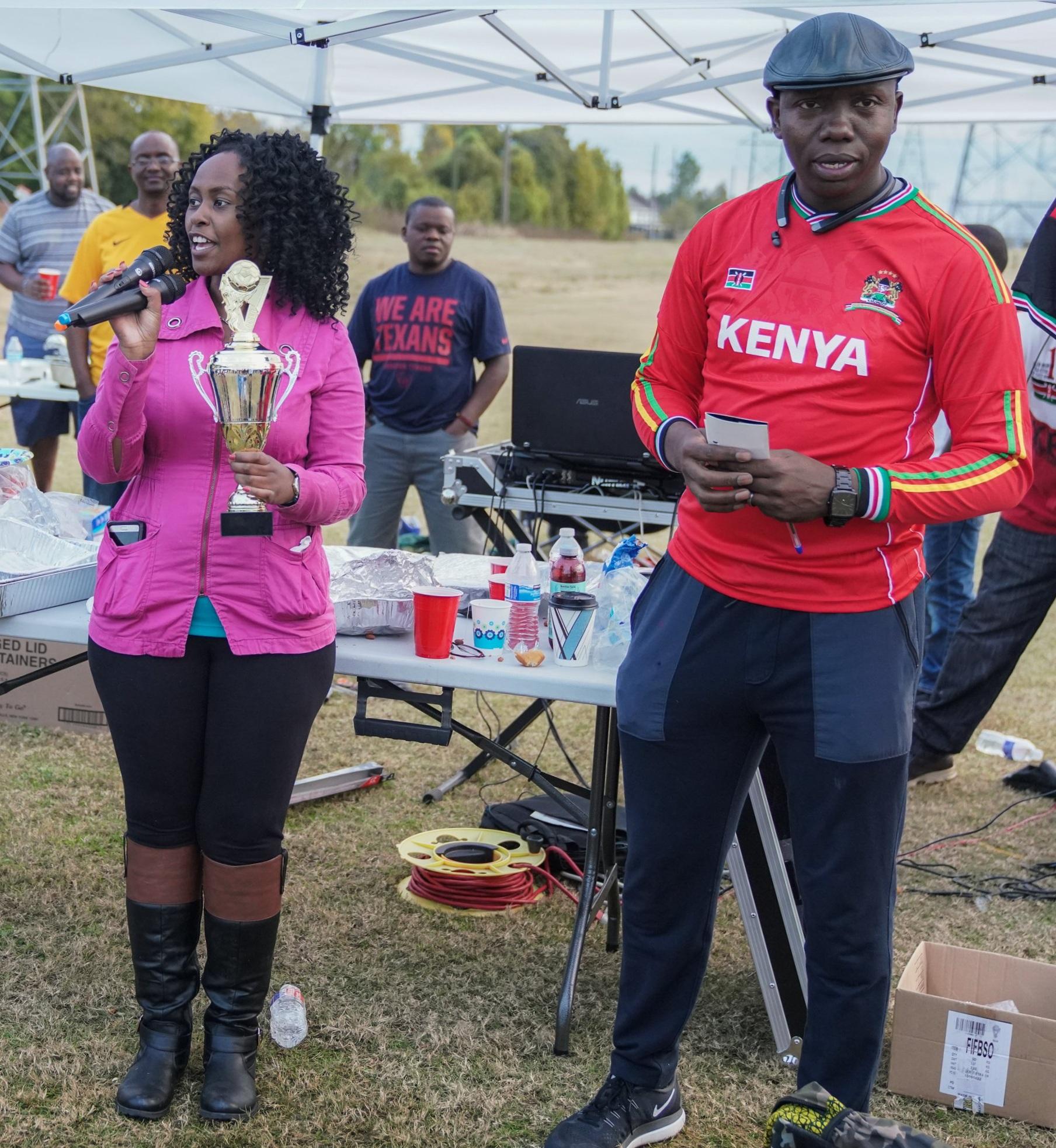 AfroKidVenture with Uhuru Soccer Stars