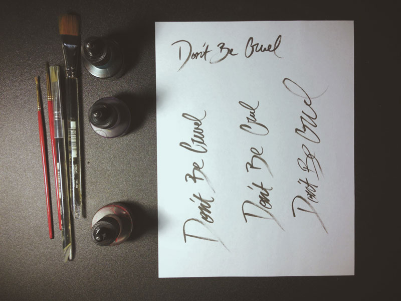 Monica-Galvan_photography-design_don't-be-cruel_lettering-typography