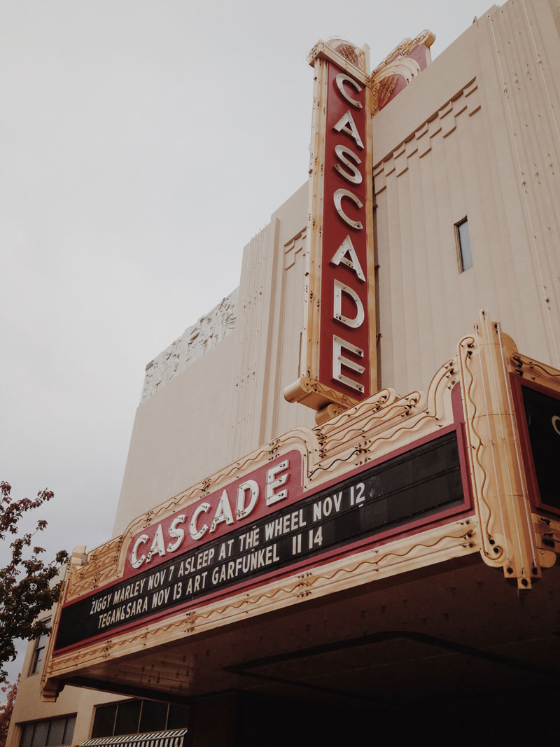 cascade theatre, redding california
