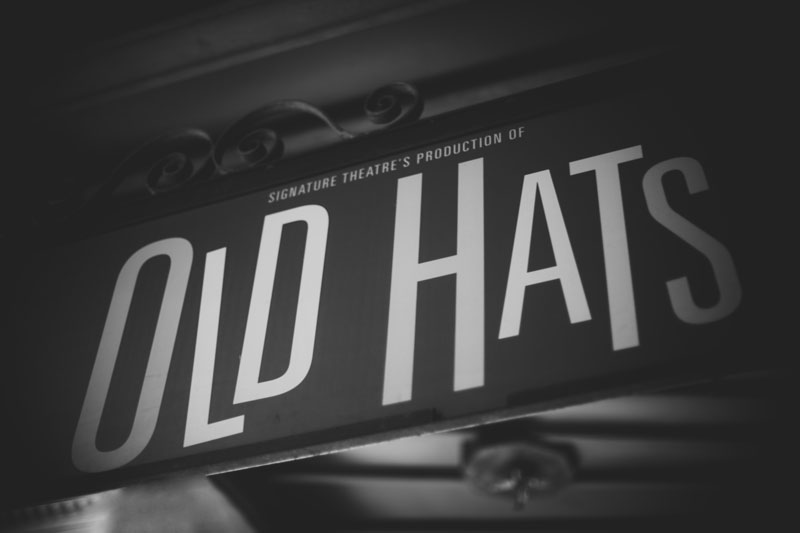 Old Hats signage typography