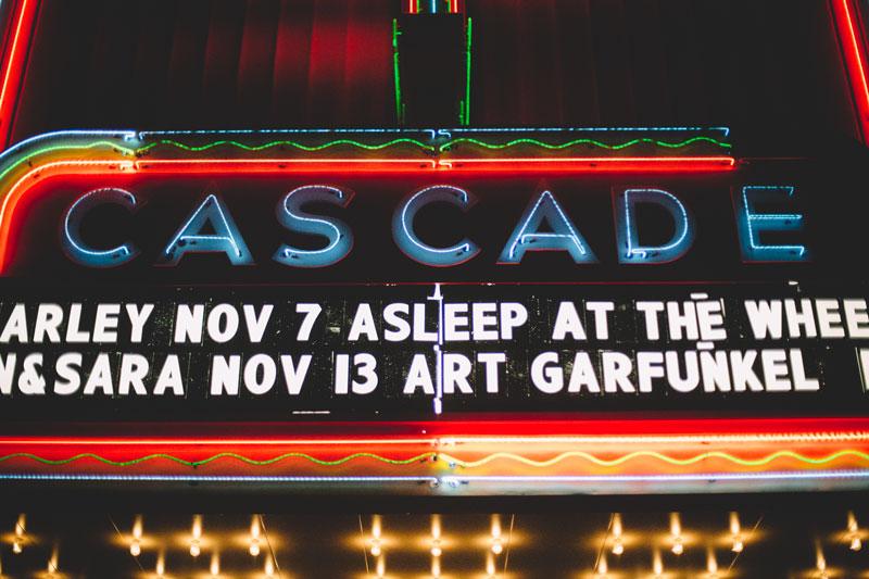 Tegan and Sara concert at the Cascade Theatre Redding California