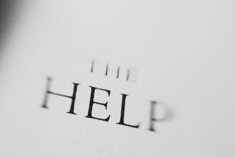 Monica-Galvan-photography_black-and-white_typography-words-lensbaby_the-help