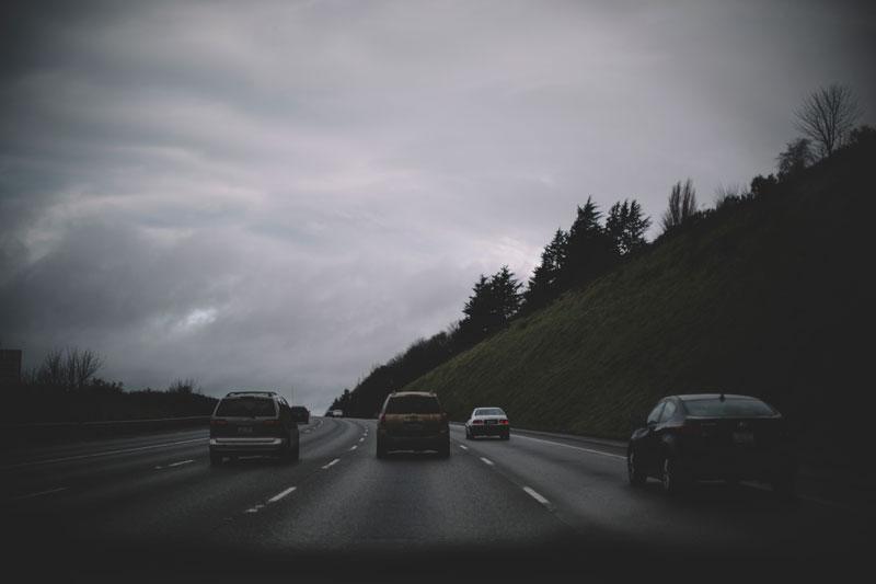 Driving to Seattle Washington