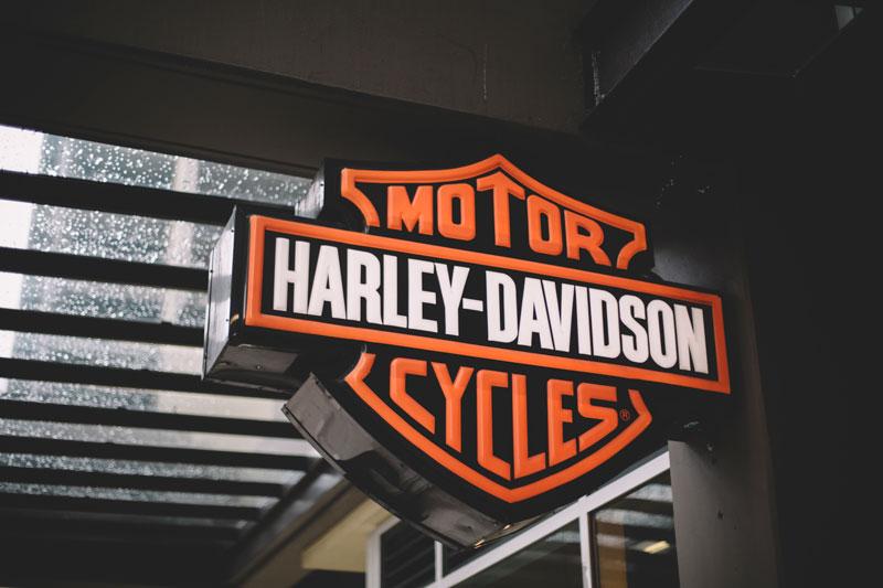 Seattle Washington Harley Davidson signage