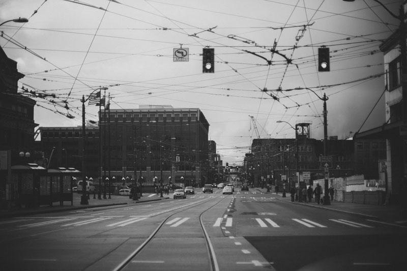 downtown Seattle Washington streets