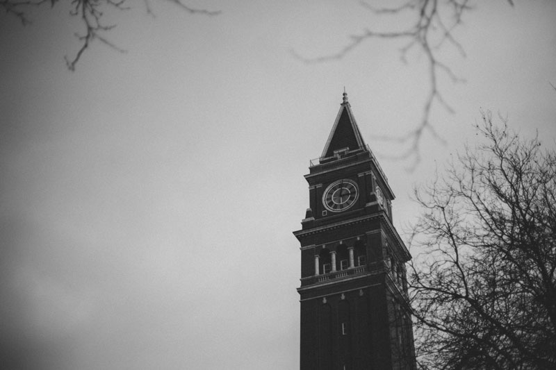 Seattle Washington clock tower