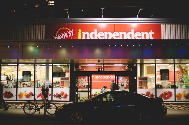Davie St Independent Store West End Vancouver BC