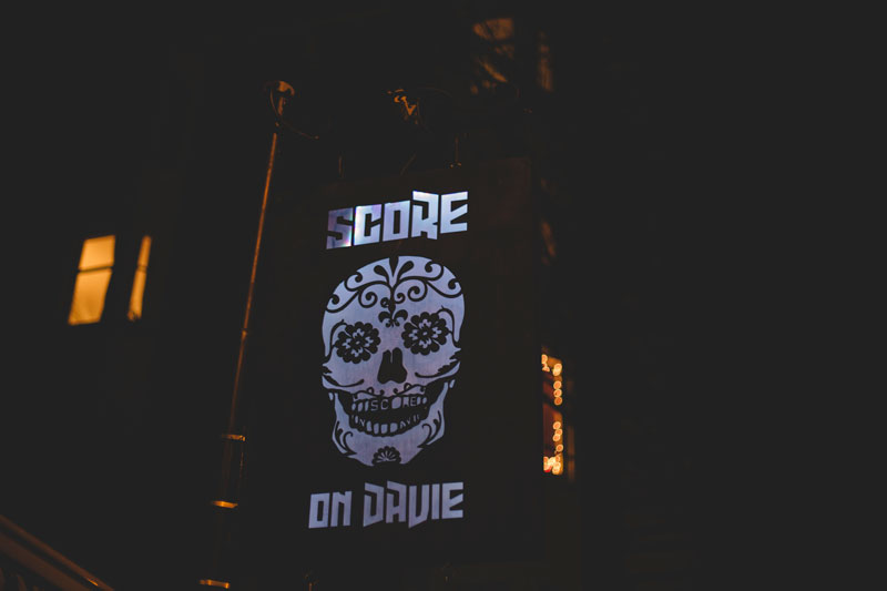 Score on Davie West End Vancouver BC
