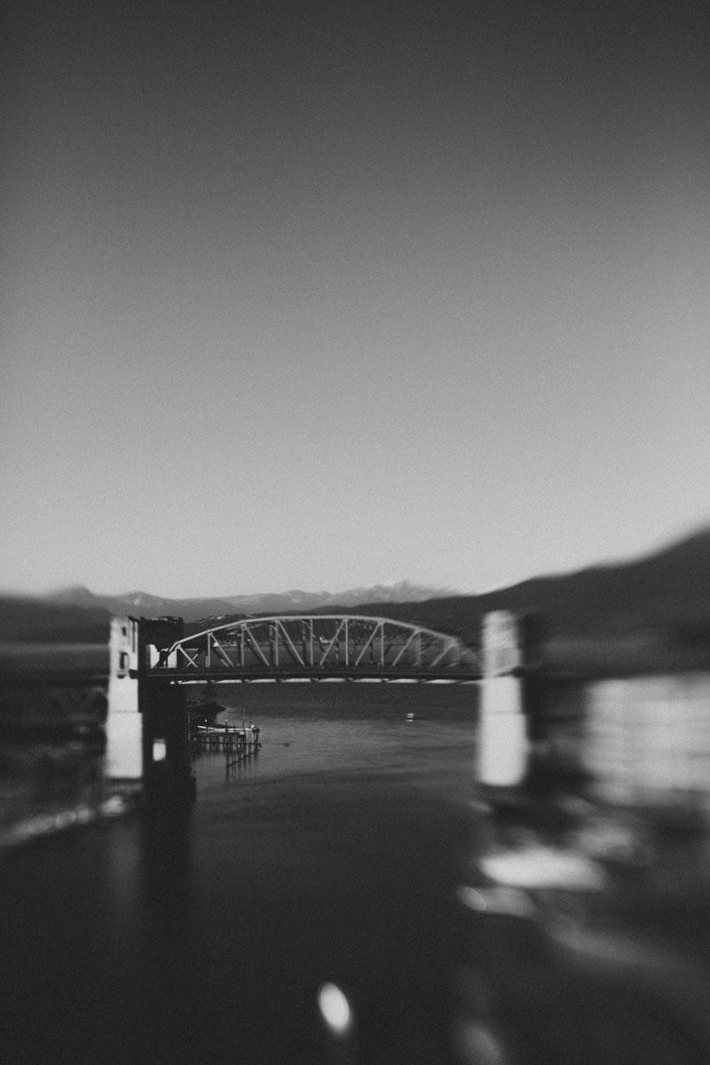 Burrard Bridge Vancouver British Columbia Canada