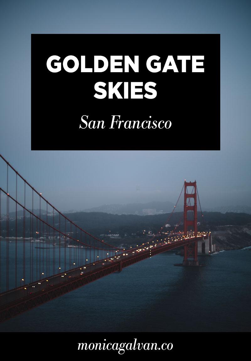 Golden Gate Skies, San Francisco