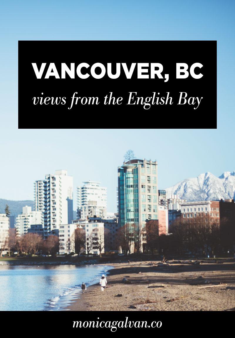 Vancouver, BC: Views of the English Bay