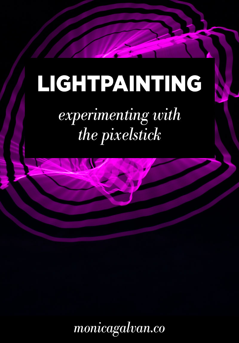 Lightpainting Photography: Experimenting with the Pixelstick