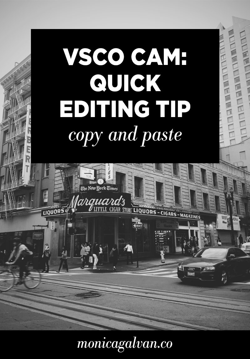 Learn how to use this quick VSCO Cam editing tip to streamline your mobile editing process