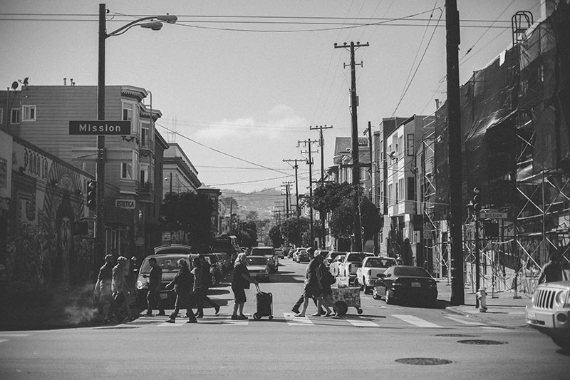 The Mission District, San Francisco Photography