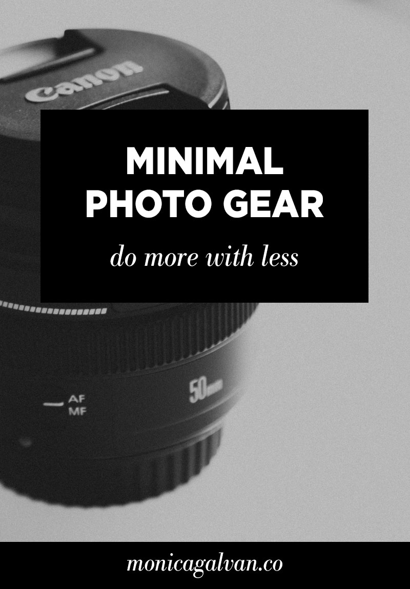 Shooting with Minimal Photography Gear: Do More with Less