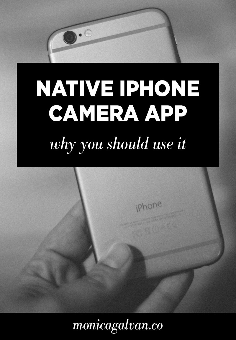 Why You Should Shoot with the Native iPhone Camera App