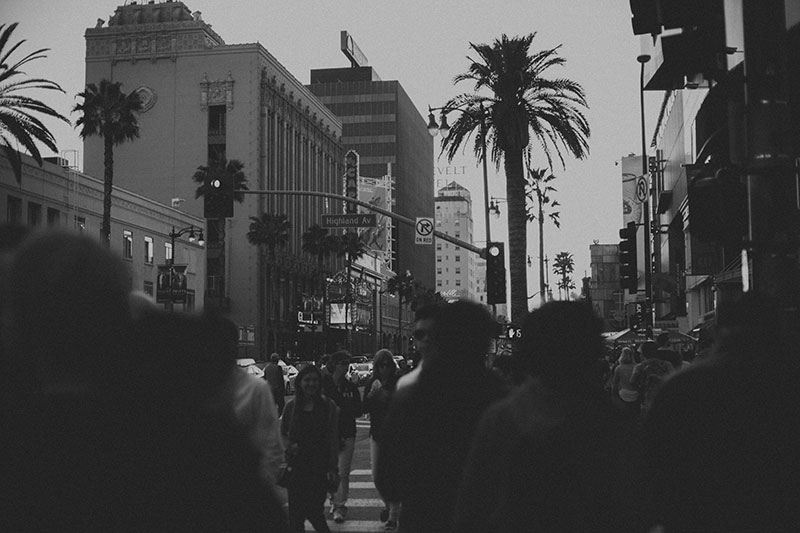 Downtown Hollywood Streets