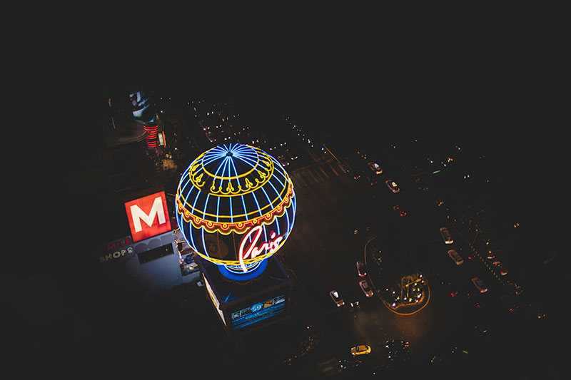 Paris, Las Vegas: Signage Photography