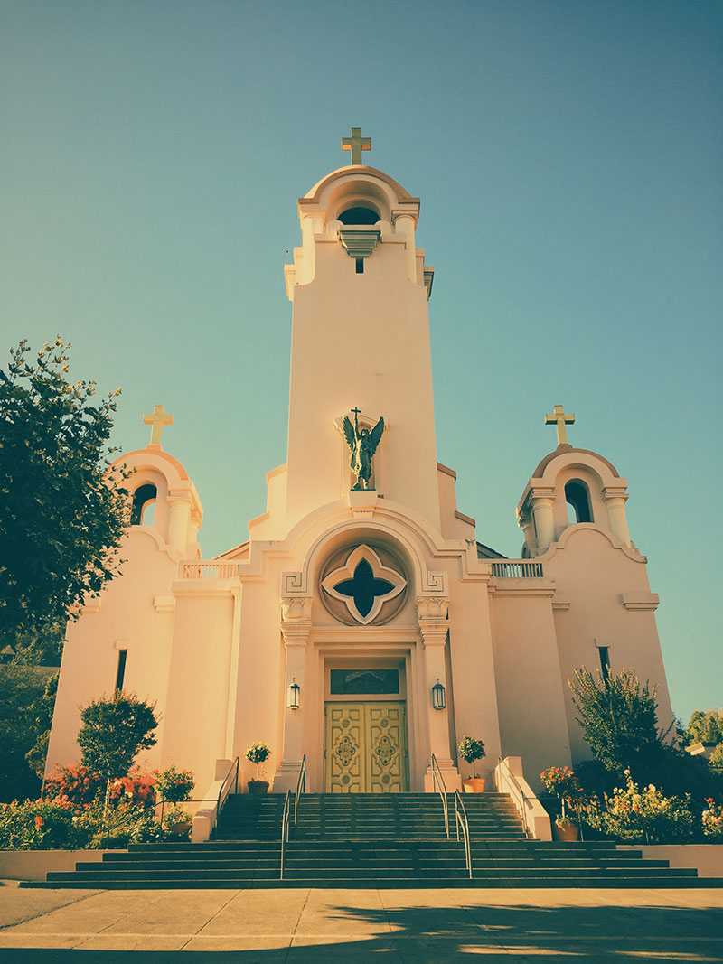 Welcome to San Rafael, California: Mission San Rafael Arcángel