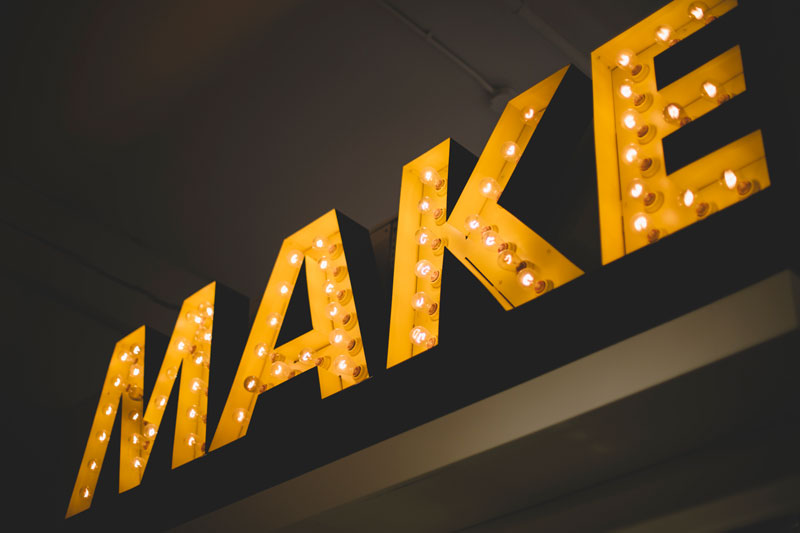 Types of Signage Photography: Big and Bold Sans Serif