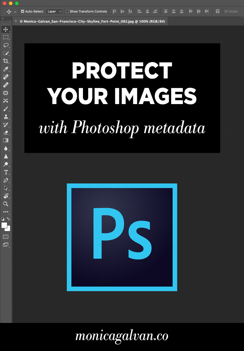 Protect your images with Photoshop metadata