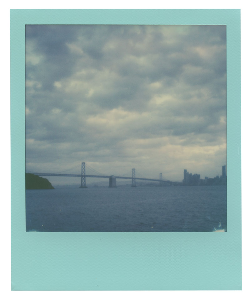 Polaroid 600 Film: San Francisco's Skyline and Bay Bridge from Treasure Island