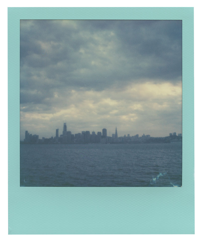 Polaroid 600 Film: San Francisco's Skyline from Treasure Island