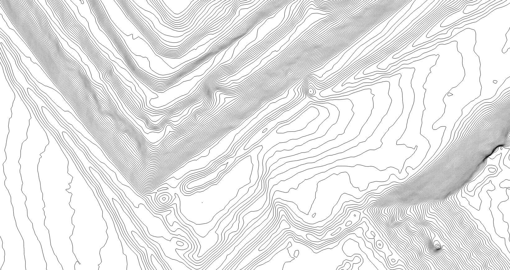 Relevés topographiques - Précision < 5 cmAcquisition par drone spécialisé et accroissement de la précision par relevés de 20 cibles au sol au laser.