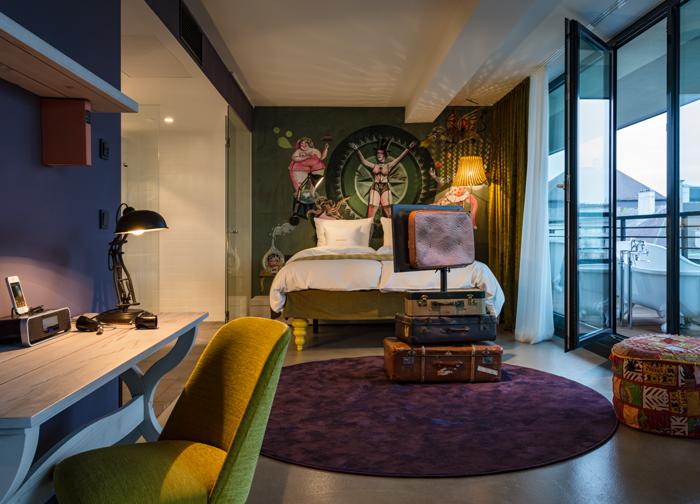 25 Hours Hotel, Museums Quartier, Vienna   Lerchenfelder Str. 1-3,  1070 Wien, Austria