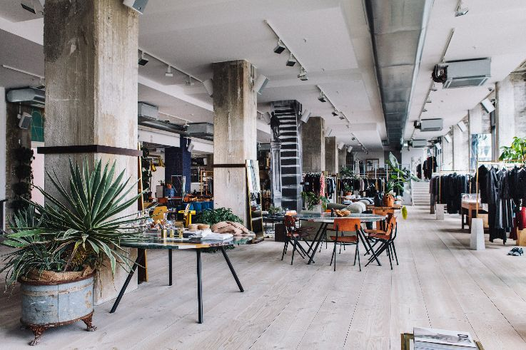 Merci concept store and restaurant in Paris, France