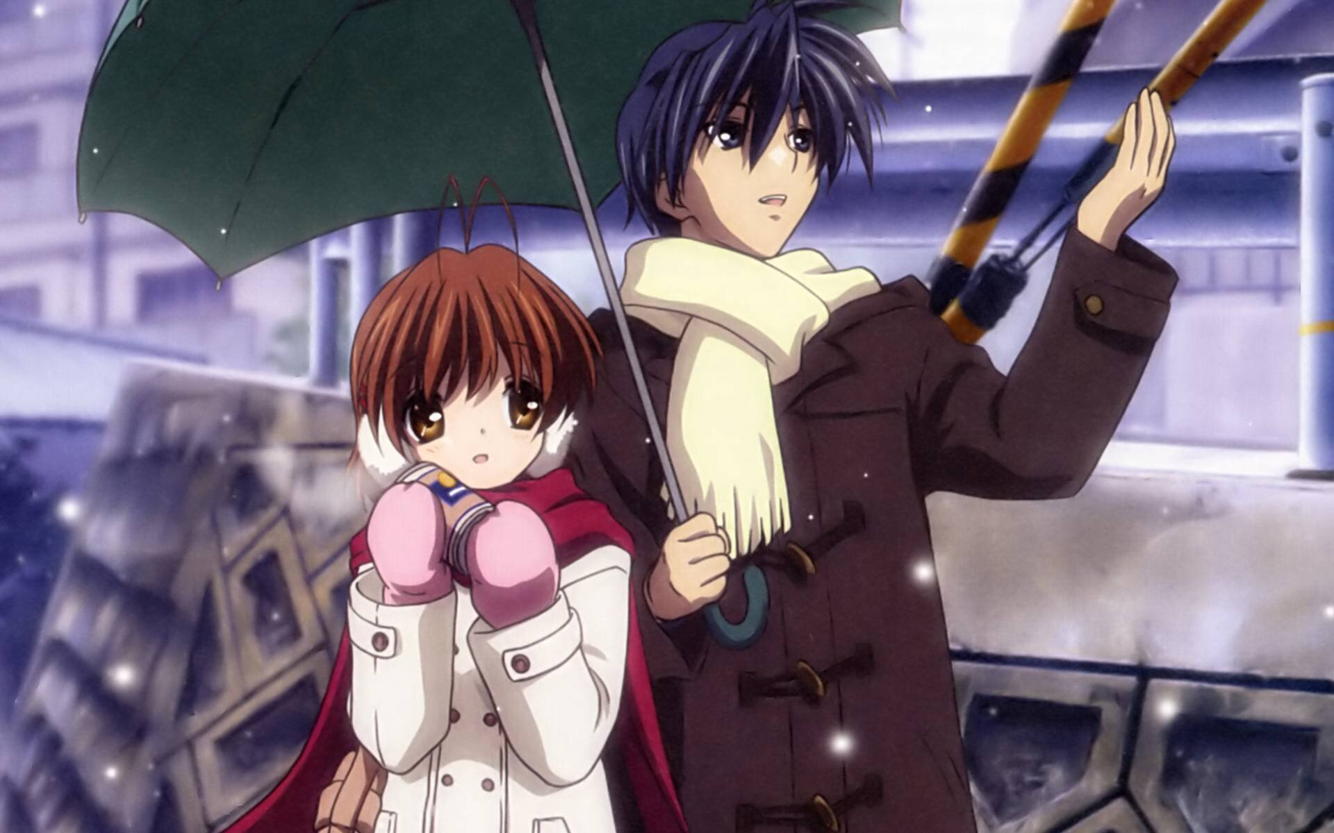 clannad after story nagisa gives birth