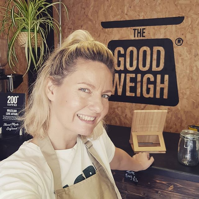 Really lovin' shop life 🛎 and the zero waste virgins and experts who are making me and The Good Weigh feel so welcome in Lady Bay 🌳💚🌍 Pop by for a chat and see what it's all about. I hope you like what we've done with the place ✌