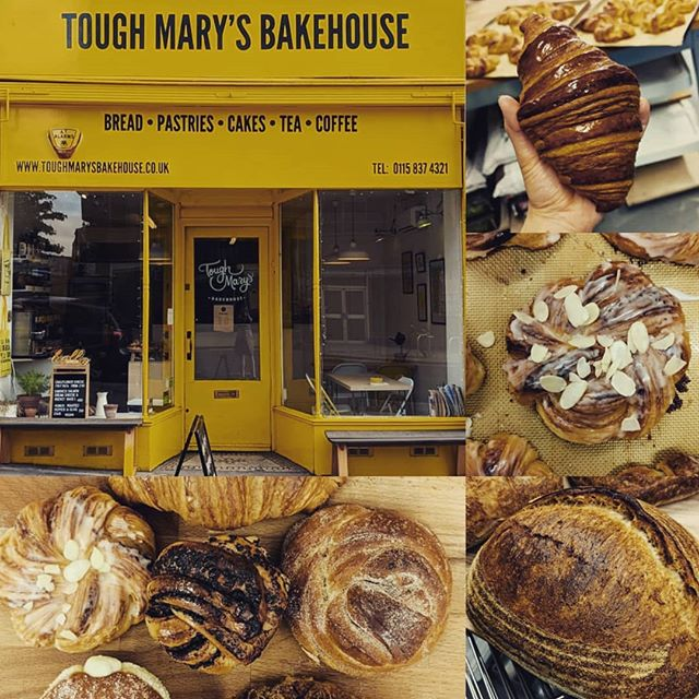 Sourdough Saturdays at The Good Weigh! 🍞🥐🥖🥨 Roll up! Roll up! For the best baked goods in Nottingham. Based waaaaay across town on Derby Road, @toughmarysbakehouse create THE MOST delicious breakfast treats you've EVER tasted 👌👌👌 I'll have a selection of their wares for sale from 10 am...be quick...first come, first served! Bring your cake tin (or something)!!! YUM YUM IN YOUR TUM! #thegoodweigh #weekendtreats