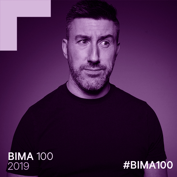 BIMA 100: Innovator & Entrepreneur of the year - A real honour to be recognised by the UK's leading digital industry body
