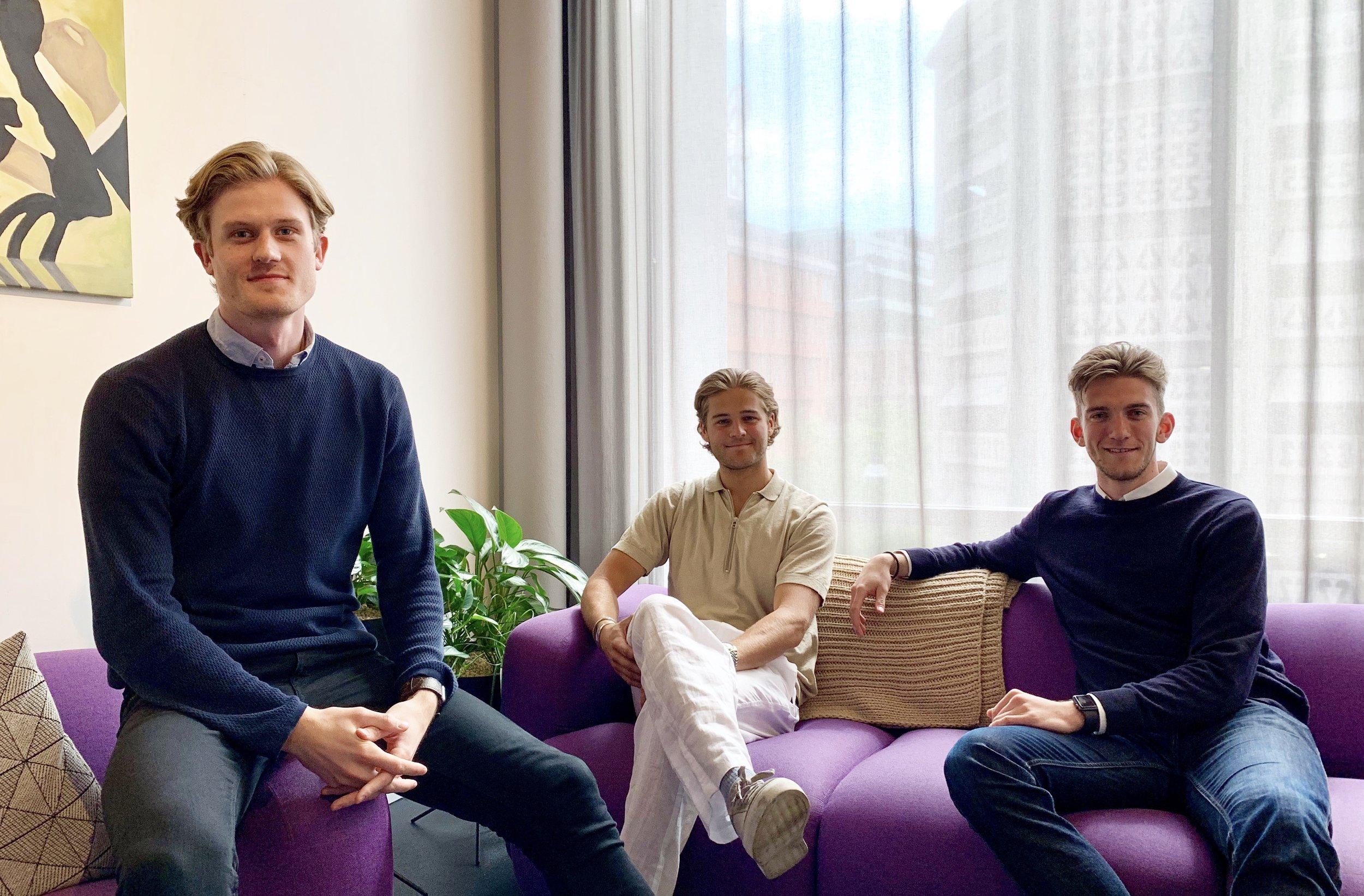 Från vänster: Philip Locklund, Carl-Philip Rudin & Peter Stahl