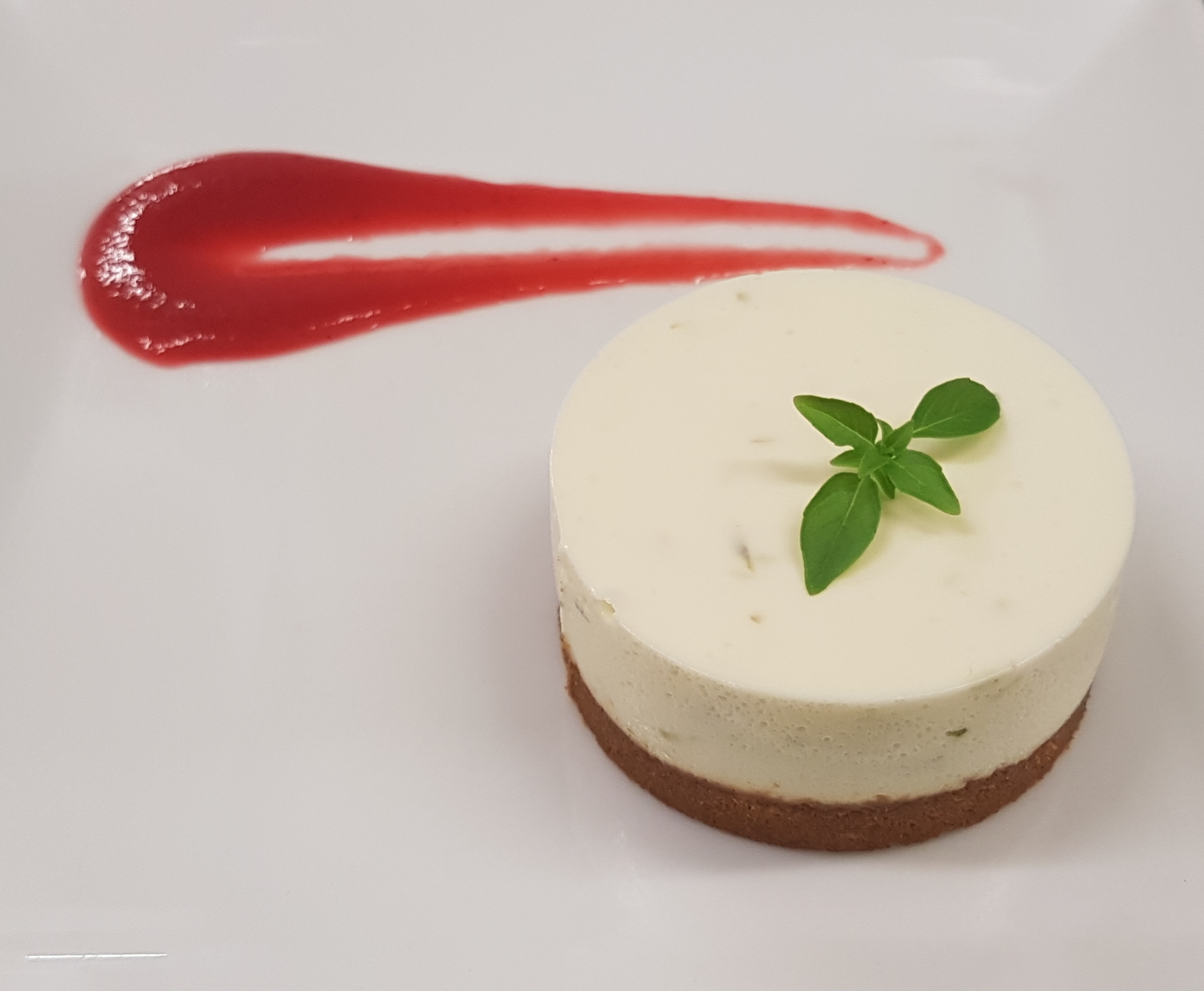 Cheesecake citron vert et spéculoos - 2019