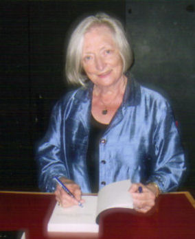 Penny at a recent book signing.