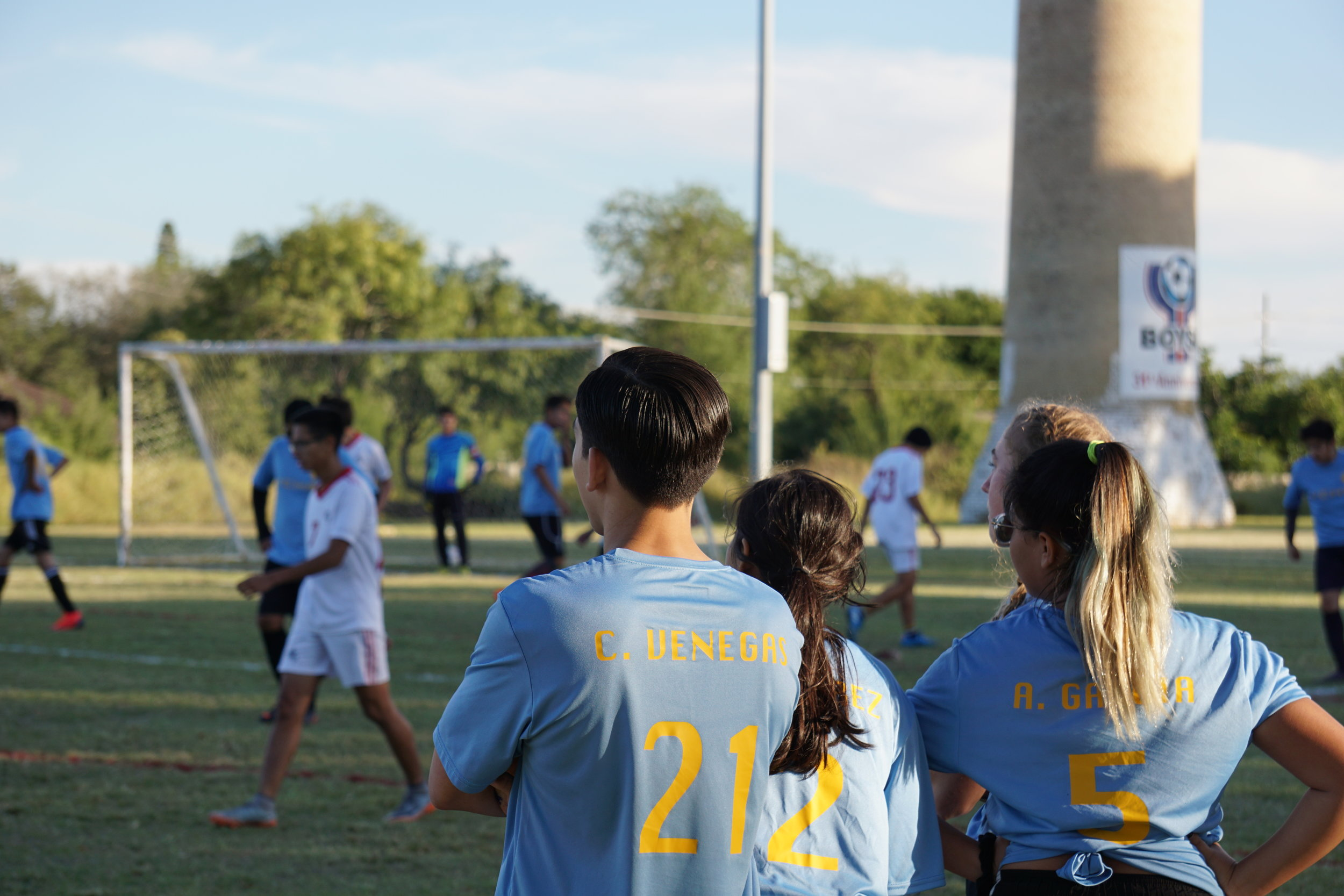 Sports - Every year our after school sports programs depend on the petition of our student body. For more information about try-outs and what current sports are being offered contact our office.