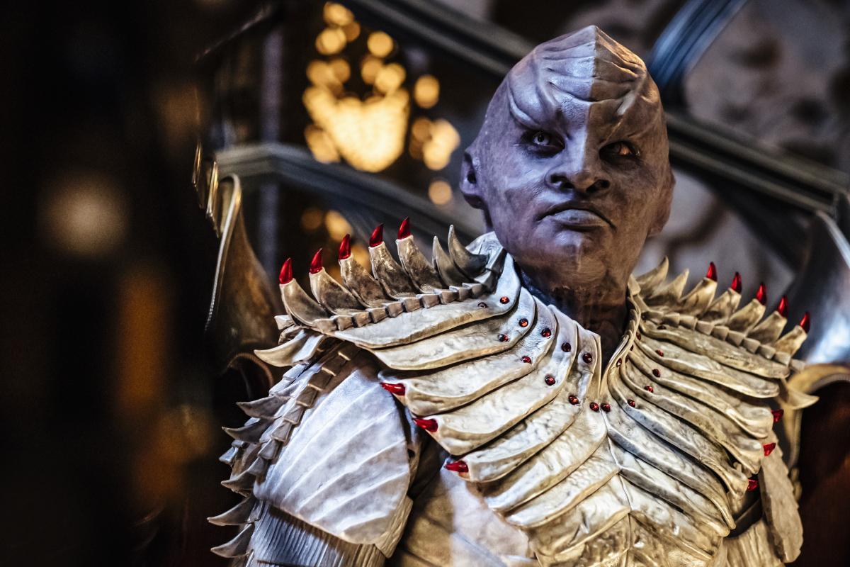 O figurino - Especialmente dos klingons e da Michelle Yeoh. É babadoooo!
