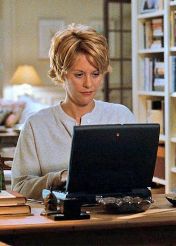 Meg Ryan - Em Mens@gem para Você (1998). É que eu queria ilustrar com alguma imagem.