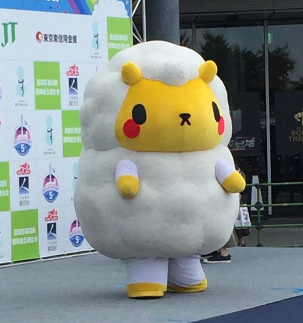 Jingis Kan no Jin-kun - Ele nem tem tanta personalidade, mas o mascote de Hokkaido tem um nome muito maravilhoso. Na verdade Jingis Kan é o nome de um prato de carne de ovelha grelhada que veio de Genghis Kan, que teria popularizado a carne de ovelha em Hokkaido!