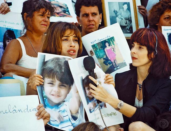 Isadora Ribeiro vivia Odaísa, uma mãe que via seu filho desaparecer