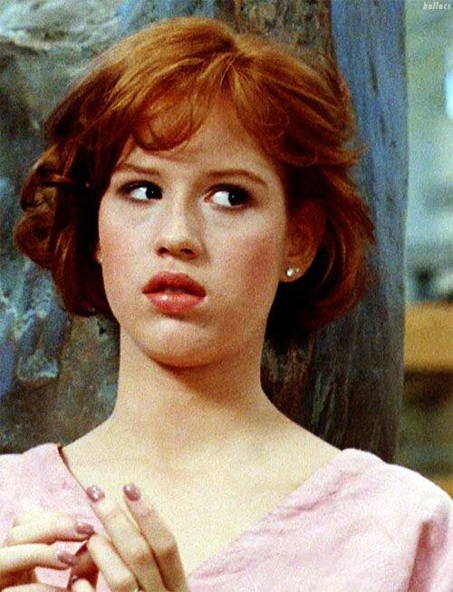 Molly Ringwald - A pobre menina rica Claire de O Clube dos Cinco é a maior filhinha de papai do cinema. Molly foi um ícone teen irresistível e onipresente na década de 1980 - e vai ganhar um post só dela, claro!