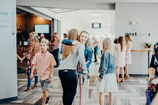 Our favorite day, SUNDAY, is almost here! So grab your BFF, and plan to join us at 9:15a or 10:45a 💛