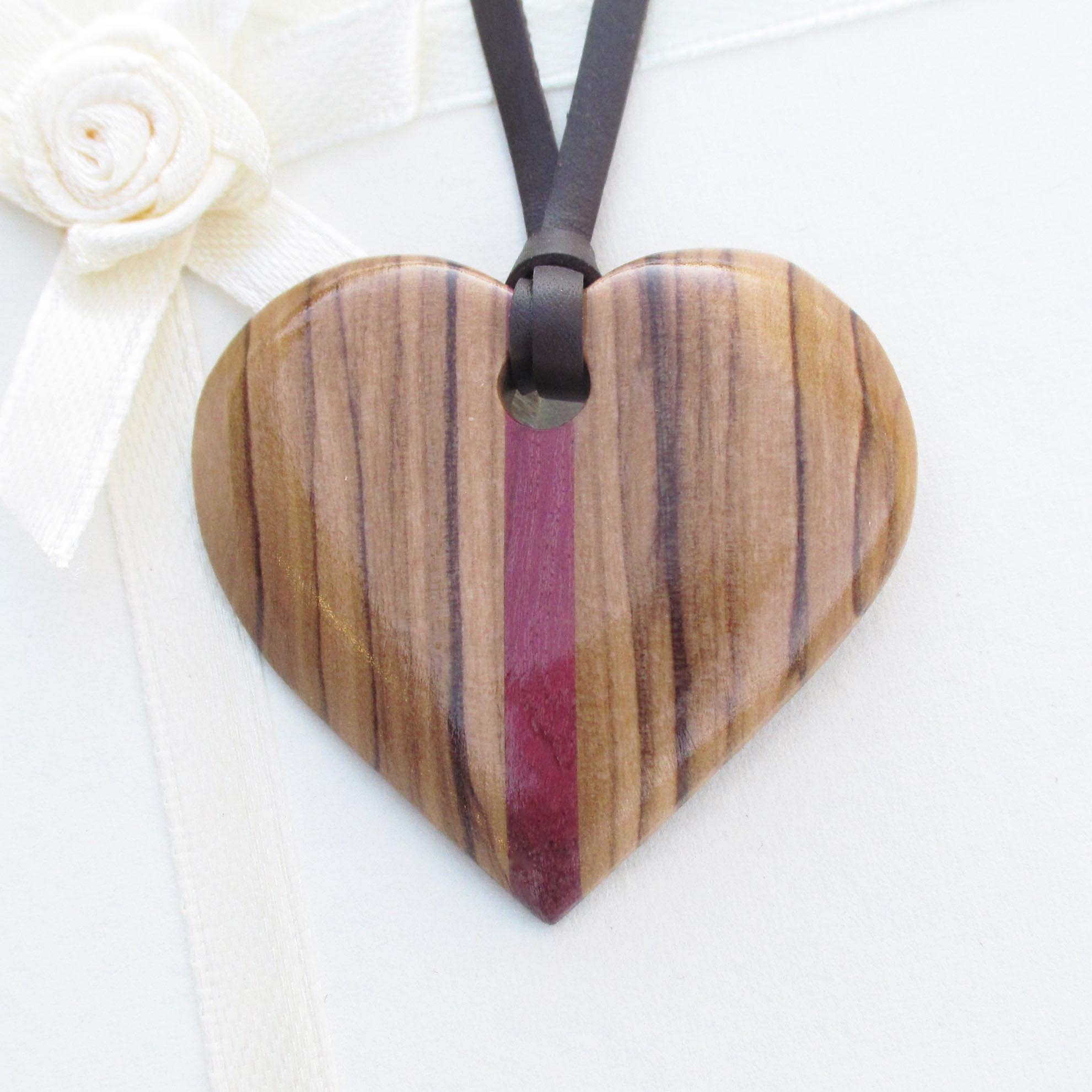 Wooden Jewellery - Handcrafted Wooden Pendants, Earrings, Bangles For Him And her