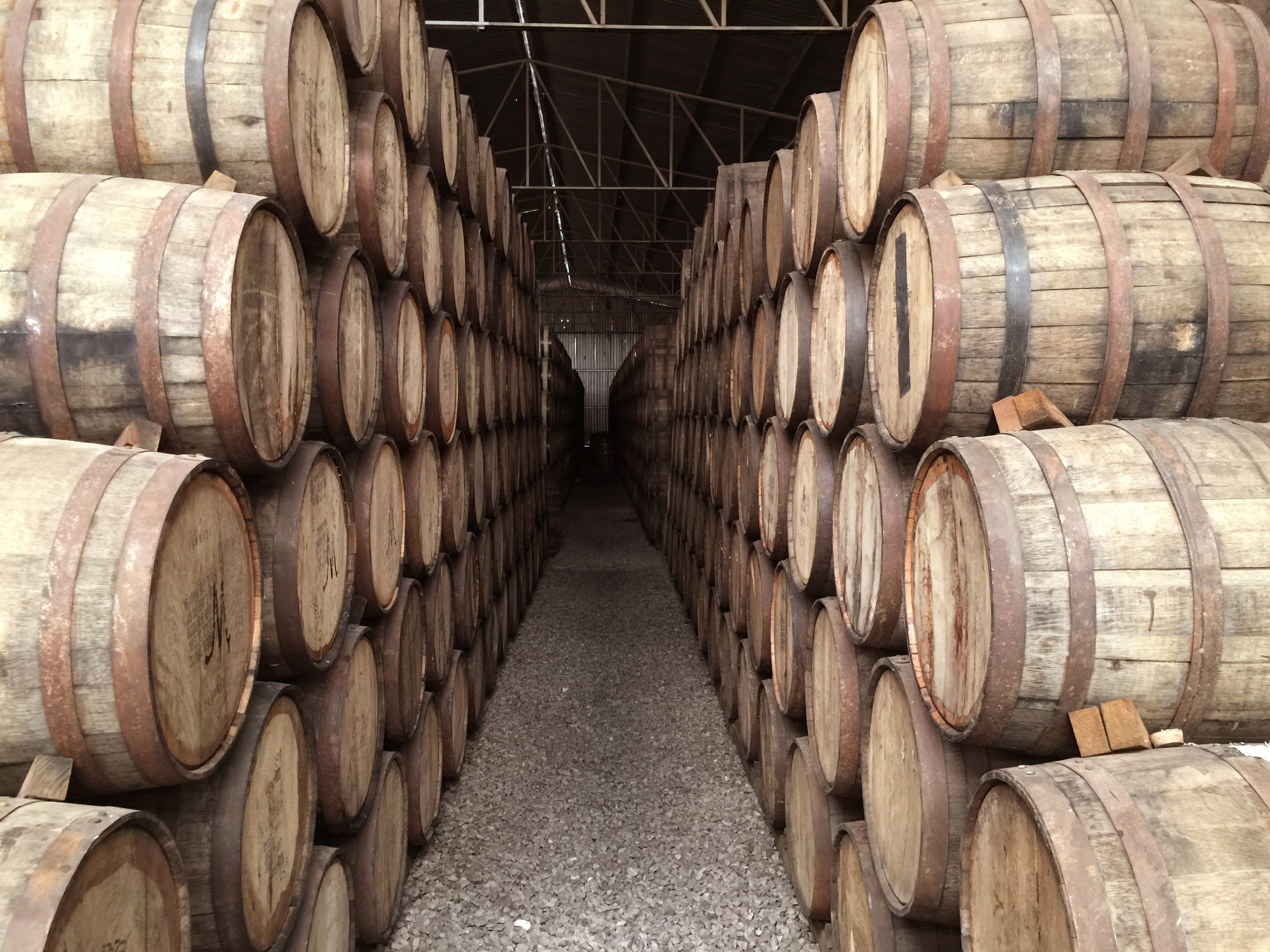 Pitlochry Whisky barrels - salvage aged oak